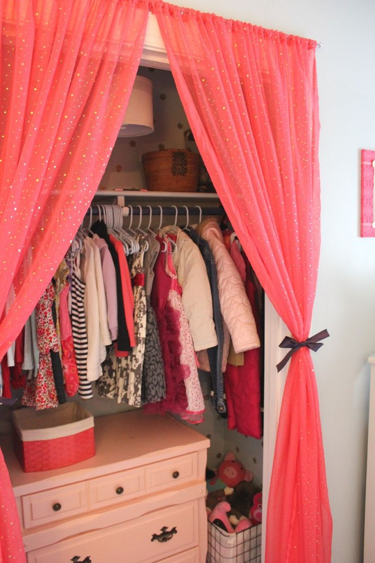 23 Best Closet Curtains Images On Pinterest Child Room