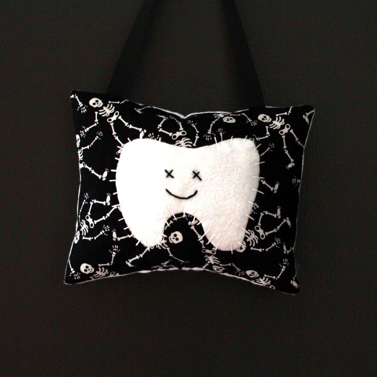 Kids Tooth Fairy Pillow by twolittleladybugs15 on Etsy