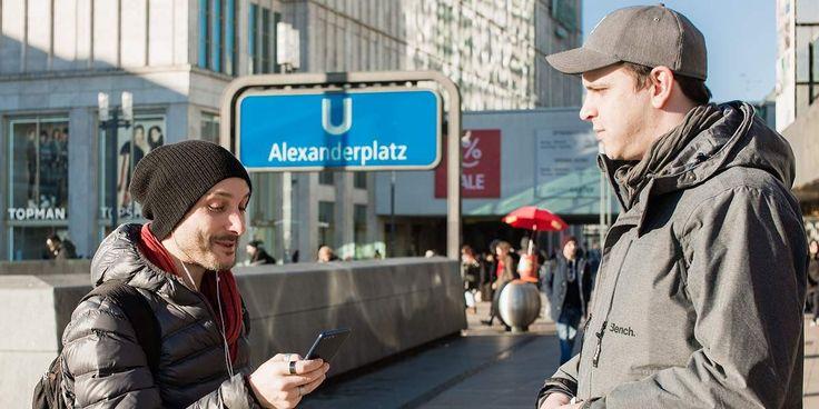 Das honor View10 erobert den Berliner Alexanderplatz