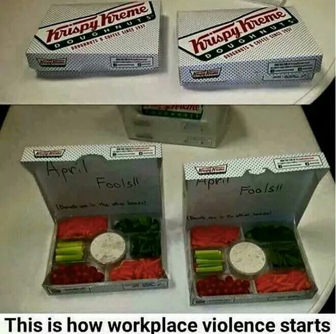 Definitely a good reason for work place violence!