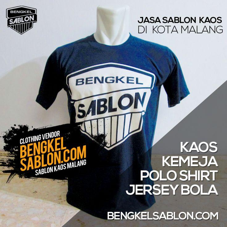 Jasa Sablon Kaos & Konveksi di Malang | Bengkel Sablon Kaos Malang http://bengkelsablon.com