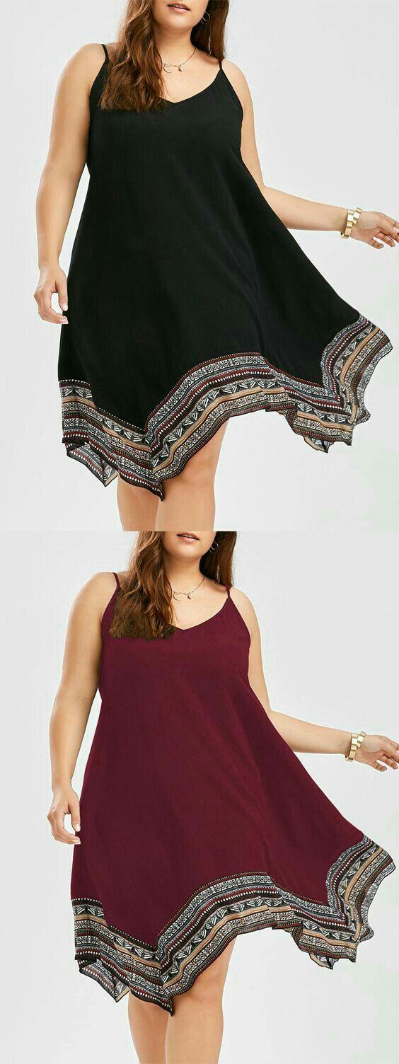 Moda Plus-size - Vestido