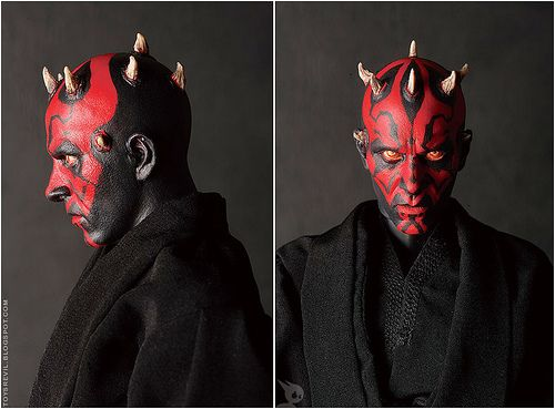 darth maul makeup template | Darth Maul Pattern
