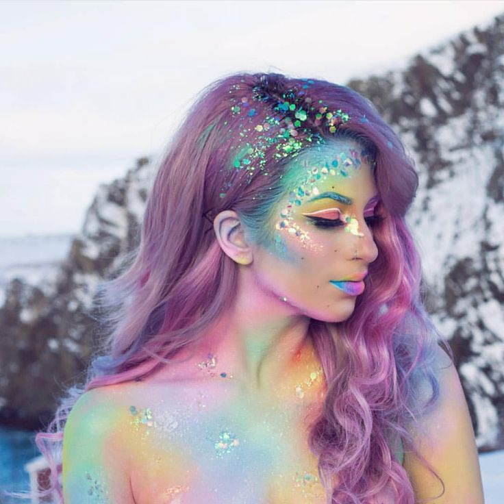 """37.1k Likes, 155 Comments - Sugarpill Cosmetics (@sugarpill) on Instagram: """"We want to live in @jessikapetten's sparkly pastel wonderland! She used #sugarpill Suburbia and…"""""""