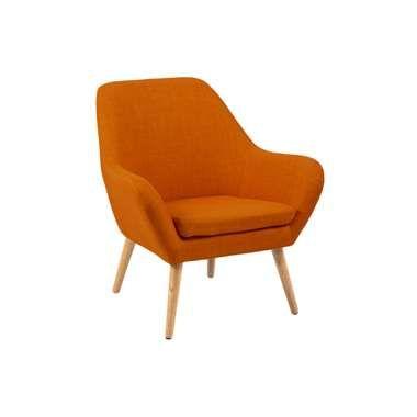 Fauteuil Bergen - stof - oranje