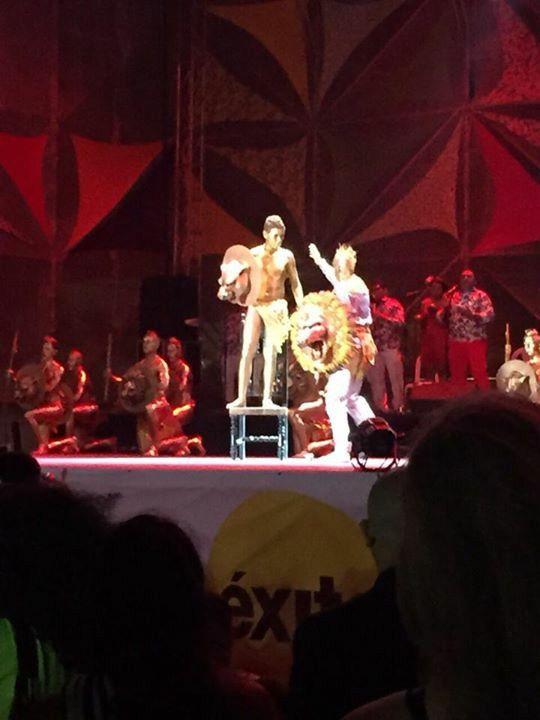 Coronacion  del rey del carnaval de barranquilla 2015