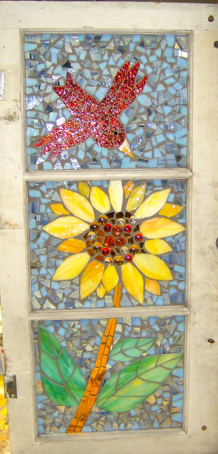 65 best Mosaic ~ Sunflowers images on Pinterest   Stained glass ...