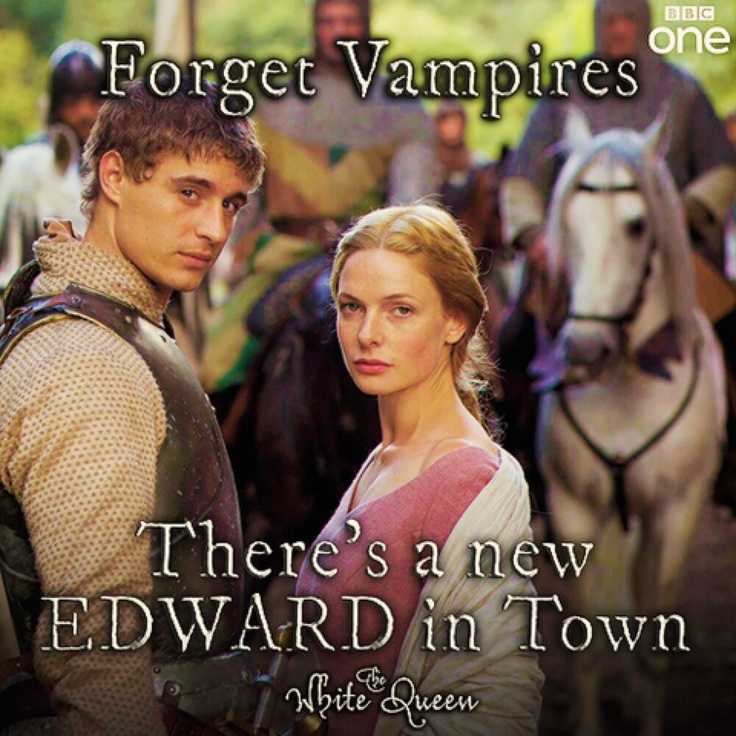 New Edward in town!!  The White Queen FUCK YES...no really fuck ...yes ... @Michele Berman