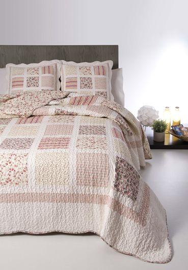 7735 Adela 100% cotton patchwork quilt 180x270+1(50x50), 200x270+1(50x50), 235x270+2(50x50), 250x270+2(50x50)