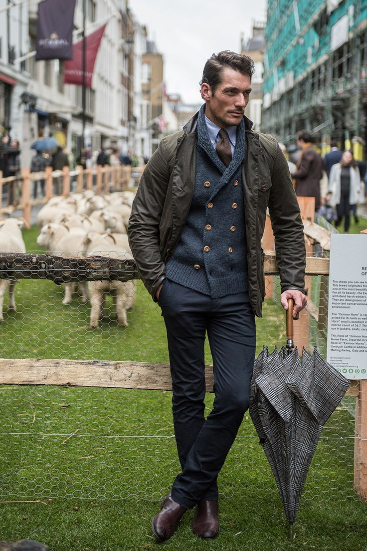 David Gandy - Learn from these 31 superbly-suited men on Savile Row - GQ.co.uk