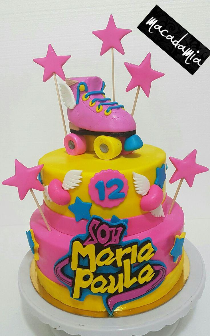 Torta Soy Luna personalizada