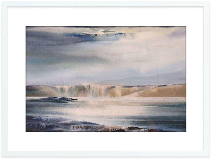 The Canvas Workshop Rebirth Landscape Framed Print, White Frame 95x75cm