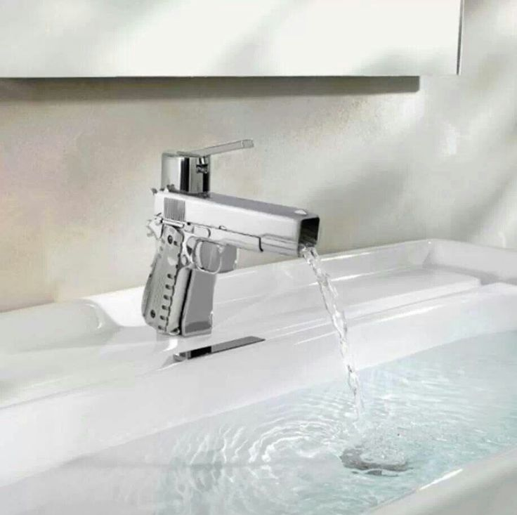 Bathroom fixtures for the Gun Afficionado