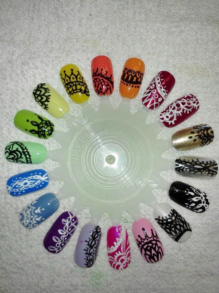 Mejores 663 imágenes de Diseños uñas en Pinterest | Diseños ...