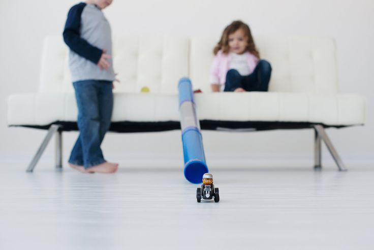Toy Car And Ball Tunnel Ramp Race Track