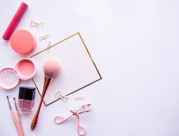 Designer Black Frame Glasses Cosmetic Accessories Makeup Wallpapers Makeup Illustration