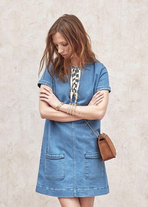 Robe Giulia // Lookbook Pré-collection Printemps Eté #sezane #robe #giulia #lookbook #precollection #printemps #ete