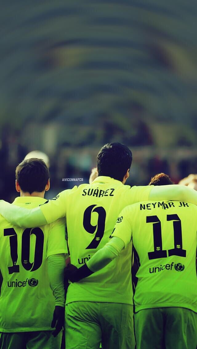FC Barcelona - Dangerous trio - Messi, Suarez and Neymar