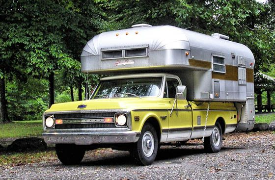 Curbside Classic: 1969 Chevrolet C20 Custom Camper – A Novel Way to Do the U.S.A.
