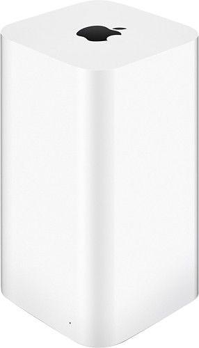 Apple - AirPort® Time Capsule® 2TB Wireless Hard Drive & 802.11ac Wi-Fi Base Station - Angle
