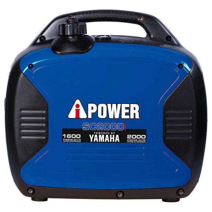 A-I Power Yamaha 2000W Gas Inverter Generator 1600W Running 120V