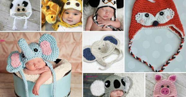 7 Patrons gratuits! Des bonnets de bébé au crochet! 1ère partie
