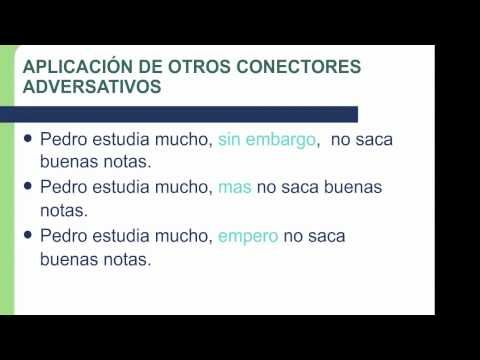 Conectores oracionales - YouTube