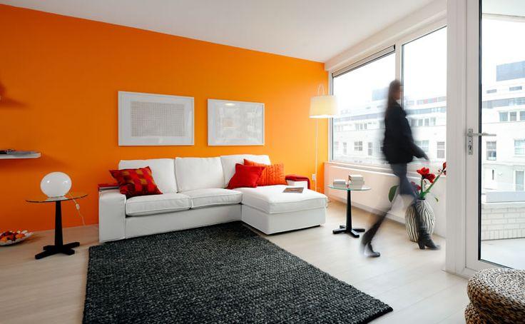 keuken kleur ideeen oranje - Google zoeken