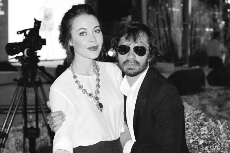 Uylana and Olivier Zahm at Natalia Vodianova's White Fairy Tale Ball
