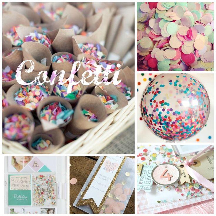 Reto Febrero 2015: ¡Confetti para todos!