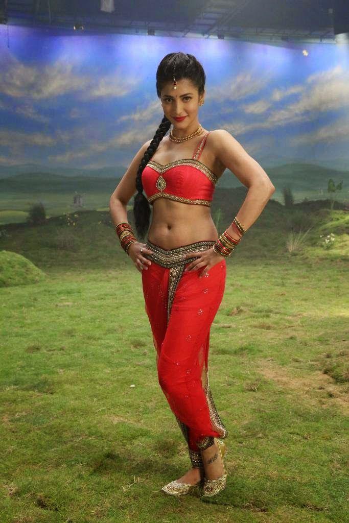 KAMA ULA: Shruthi Hassan hot Navel scenes