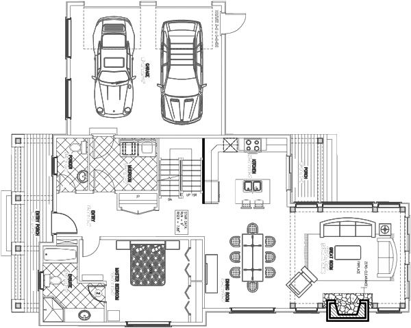 Under  Sq Ft House Floor Plans For The Home Pinterest - Small homes under 1000 sq ft