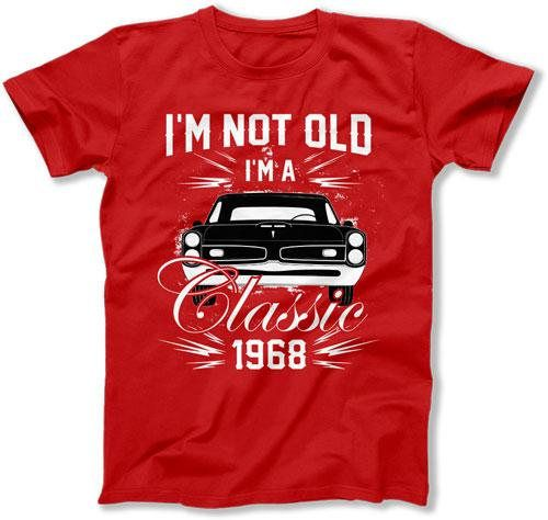 2dcbd2af4 50th Birthday Shirt Dad Birthday Gift Ideas For Him Bday Present B Day T  Shirt I'm Not Old I'm A Classic 1969 Birthday Mens Tee DAT-3046 | 50 | 30th  ...