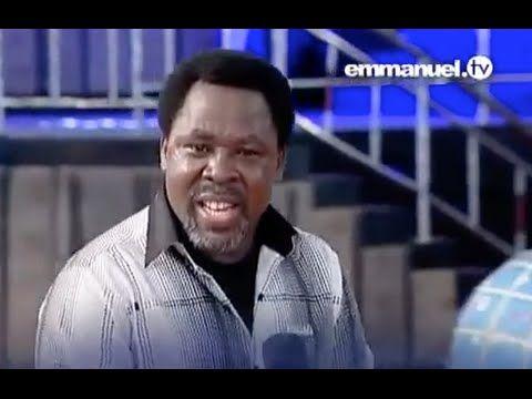 UNA REVELACIÓN QUE CAMBIARÁ TU VIDA -T.B. Joshua - YouTube