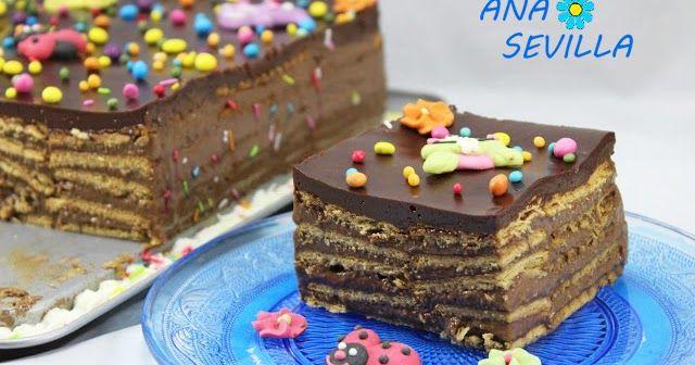 Tarta de chocolate y galletas Thermomix, tarta de galletas y chocolate thermomix, recetas para niños thermomix recetas para cumpleaños thermomix,