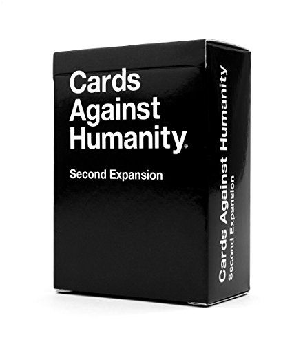 Cards Against Humanity: Second Expansion Cards Against Humanity LLC. http://smile.amazon.com/dp/B008JNPBYK/ref=cm_sw_r_pi_dp_uBvqwb0XBGXGY