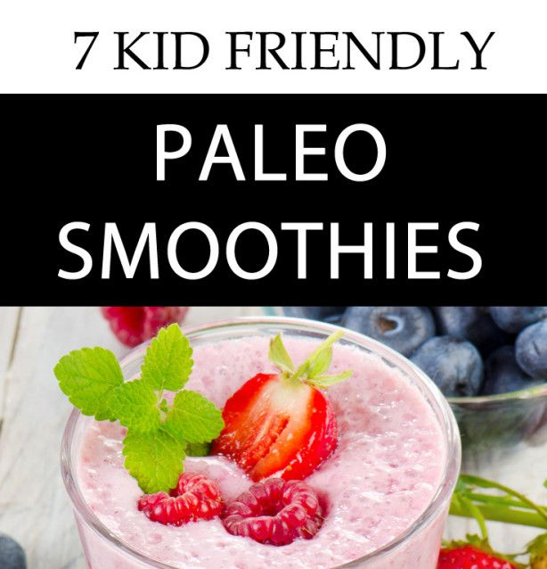 Paleo diets are great for balancing your blood sugar levels. These Paleo smoothies will give your kids an amazing energy boost as well as taste amazing!