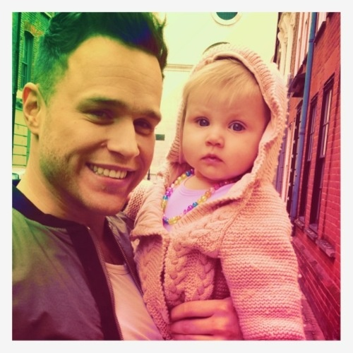 Lux and Olly Murs.