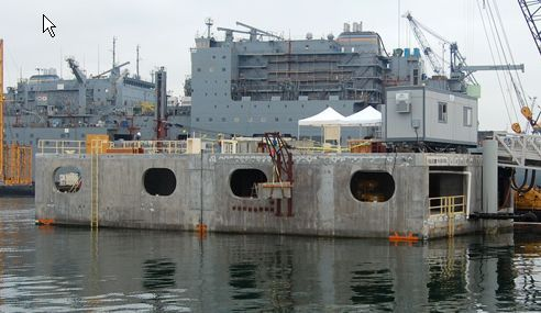 Floating concrete dock, http://yook3.com, Wilfried Ellmer, ocean business development key player network.