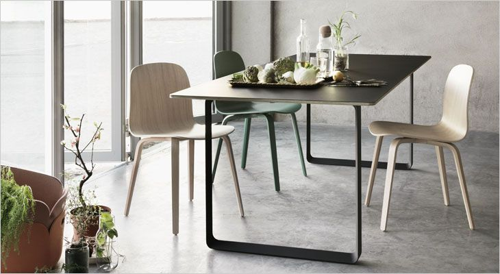 70/70 conference table. Mødebord, spisebord, dining table.