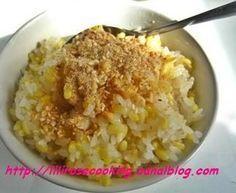 Riz gluant au soja