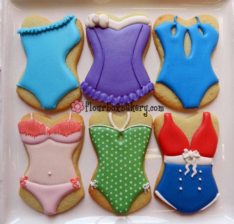 Hay Bañadores hasta en las galletas