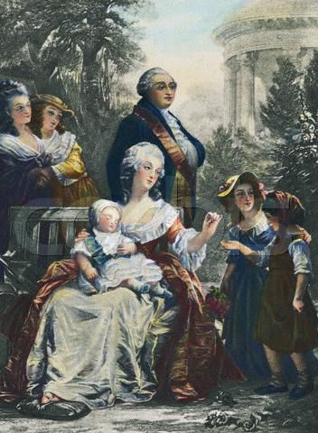 king+louis+xvi+and+marie+antoinette | Louis XVI and Marie Antoinette before Revolution | Flickr - Photo ...