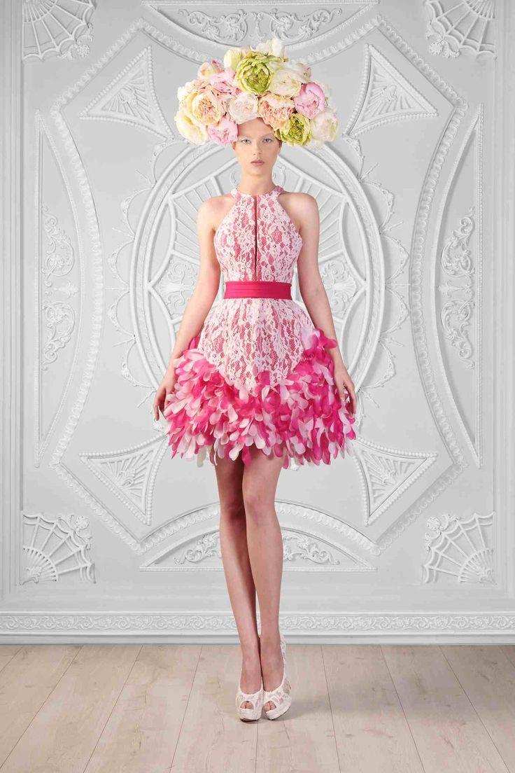 Crazy Wedding Guest! Fashion Flower Hat