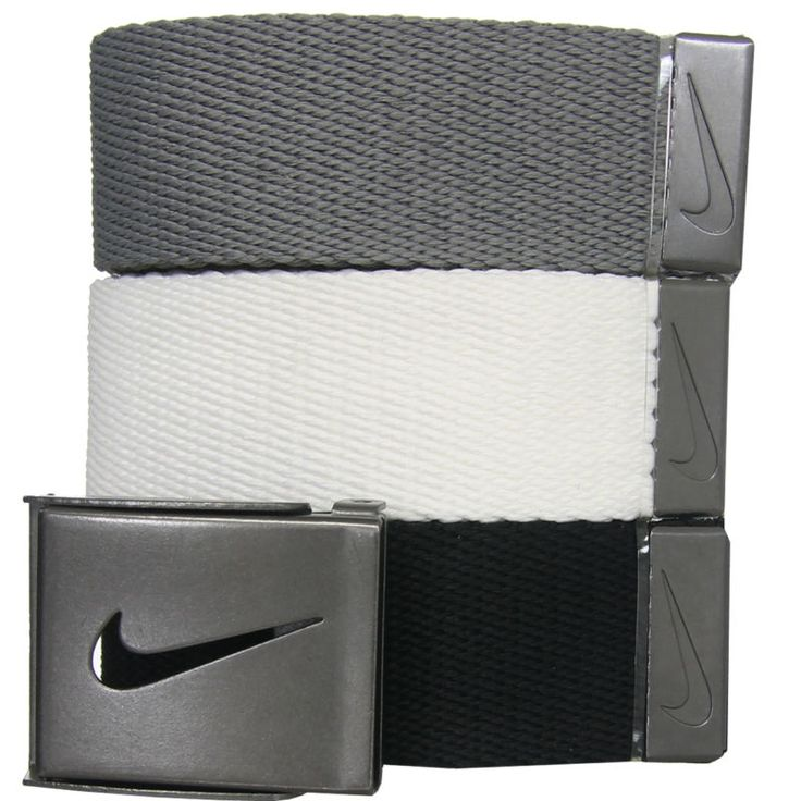 Clubs Shoes Apparel Accessories Nike Golf Men's 3-in-1 Web Belt - One Size Fits Most Original MSRP: $30.00 Additional Images Click images below to enl... #golf #clothing #mens #shoes #goods #other #sporting #accs #fits #pack #belts #size #nike #most