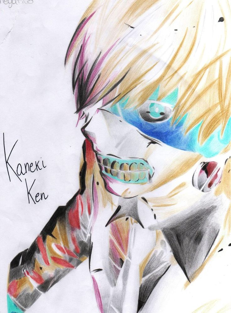 Negative Kaneki by Ticci-Coffy