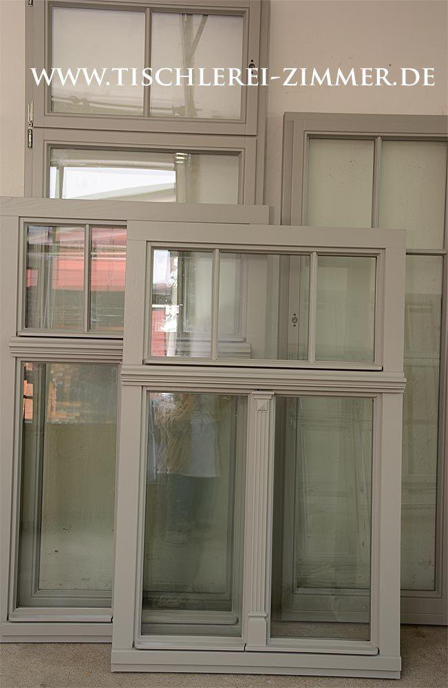 Projekt – Holzfenster aus Eiche mit Kapitell und S…