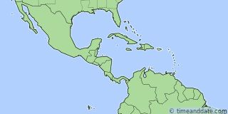Map showing the location of San Juan. Click map to see the location on our worldwide Time Zone Map.