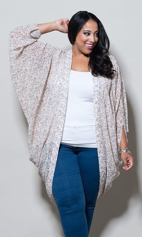 48 best plus size kimono fashion images on Pinterest | Kimono ...