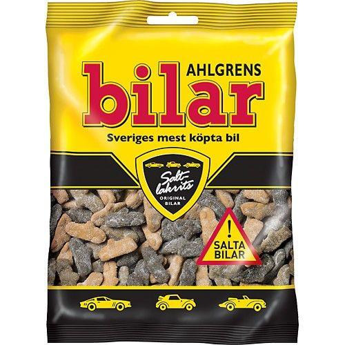 Ahlgrens Bilar Salty Licorice